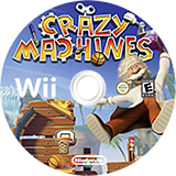 Crazy Machines Wii disc (SCZEMH)