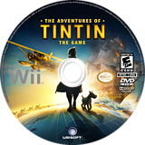 The Adventures of Tintin: The Game Wii disc (STNE41)