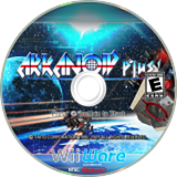 Arkanoid Plus! WiiWare disc (WBKE)