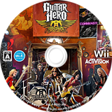ギターヒーロー エアロスミス Wii disc (RGVJ52)