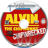 Alvin and the Chipmunks: Chipwrecked Wii disc (SA3E5G)