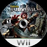 Cabela's Survival: Shadows of Katmai Wii disc (SAJE52)