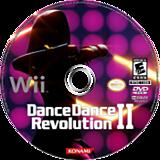 Dance Dance Revolution II Wii disc (SUREA4)