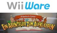 Bilderbuch-Spiele: Ein Abenteuer zum Aufklappen WiiWare cover (WETP)