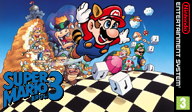 Super Mario Bros. 3 VC-NES cover (FCWP)