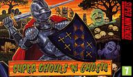 Super Ghouls'n Ghosts VC-SNES cover (JA4P)