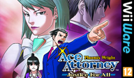 Phoenix Wright Ace Attorney: Justice for All WiiWare cover (W2GP)