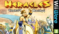 Heracles: Chariot Racing WiiWare cover (WHEP)