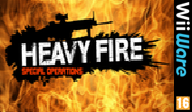 Heavy Fire: Special Operations WiiWare cover (WHFP)