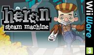 Heron: Steam Machine WiiWare cover (WHRP)
