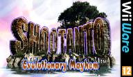 Shootanto: Evolutionary Mayhem WiiWare cover (WSUP)