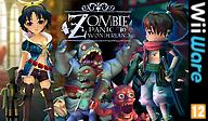 Zombie Panic in Wonderland WiiWare cover (WZPP)
