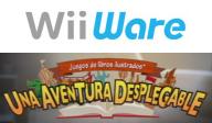 Juegos de libros ilustrados: Una aventura desplegable WiiWare cover (WETP)