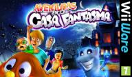 Aventuras en la Casa Fantasma WiiWare cover (WHUP)