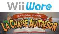 Jeux de plateau en images:La chasse au trésor pochette WiiWare (WETP)