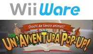 Giochi da tavolo animati: Un'avventura pop-up! WiiWare cover (WETP)