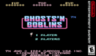 Ghosts 'n Goblins VC-NES cover (FDGE)