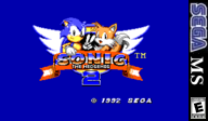 Sonic the Hedgehog 2 VC-SMS cover (LAJE)