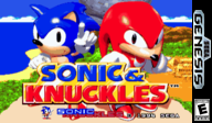 Sonic & Knuckles VC-MD cover (MCDE)