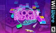 Block Breaker Deluxe WiiWare cover (WB5E)