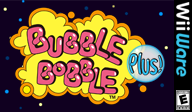 Bubble Bobble Plus! WiiWare cover (WBLE)
