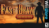 Fast Draw Showdown WiiWare cover (WFAE)