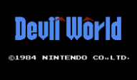 Devil World VC-NES cover (FA4P)