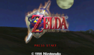 The Legend of Zelda: Ocarina of Time VC-N64 cover (NACP)