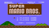 Super Mario Bros. VC-NES cover (FAGE)