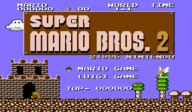 Super Mario Bros.: The Lost Levels VC-NES cover (FB2N)