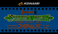 Castlevania II: Simon's Quest VC-NES cover (FC8E)