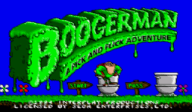 Boogerman: A Pick and Flick Adventure VC-MD cover (MCQE)