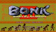 Bonk 3: Bonk's Big Adventure VC-PCE cover (PBIE)