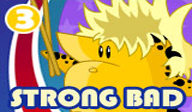 Strong Bad Episode 3: Baddest of the Bands WiiWare cover (WBZE)