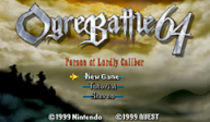 Ogre Battle 64:Person of Lordly Caliber VC-N64 cover (NAYM)