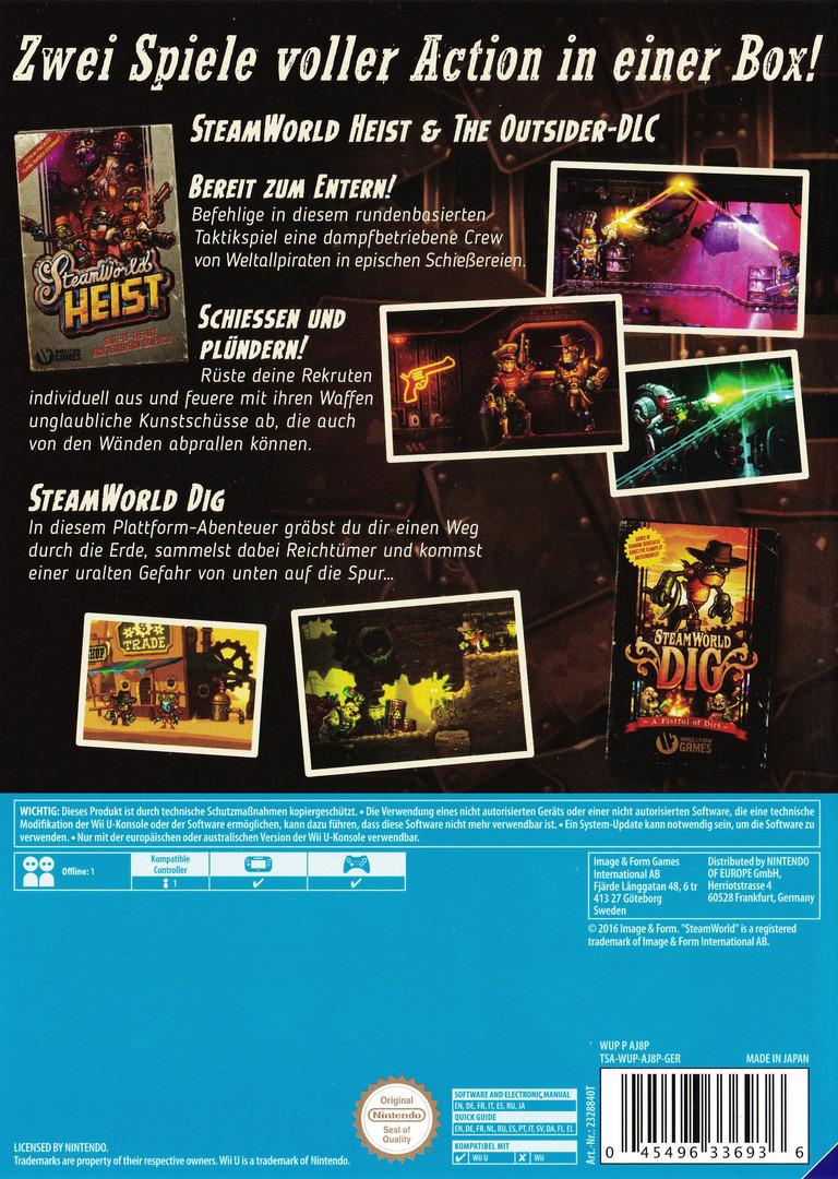 SteamWorld Collection WiiU backHQ (AJ8PVW)
