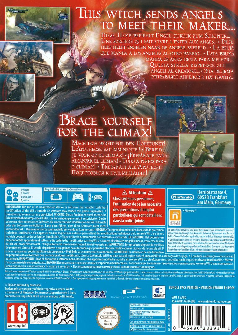 Bayonetta WiiU backHQ (AAFD01)