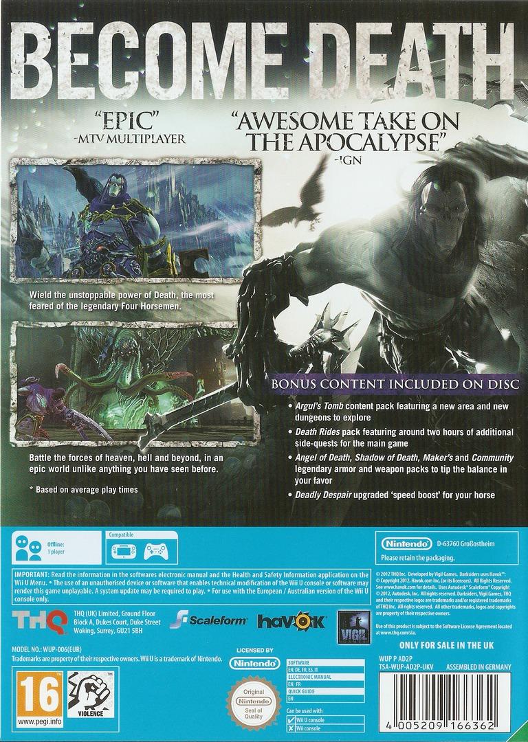 Darksiders II WiiU backHQ (AD2P78)