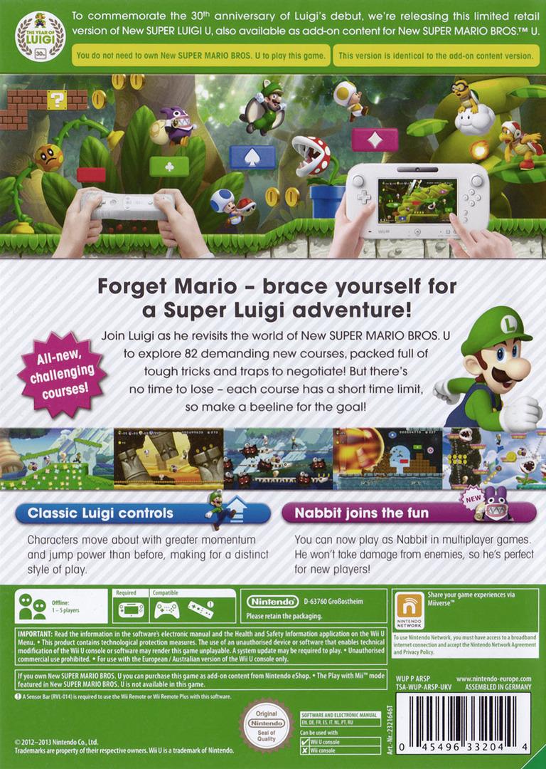 New Super Luigi U WiiU backHQ (ARSP01)