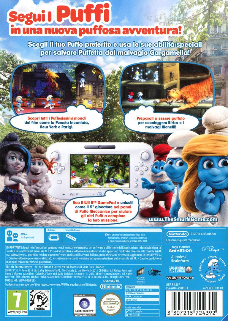I Puffi 2 WiiU backHQ (ASUP41)
