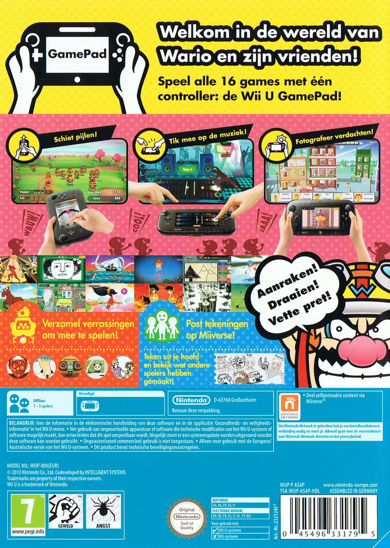 Game & Wario WiiU backHQ (ASAP01)