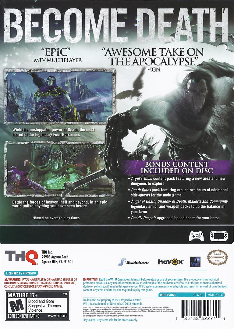 Darksiders II WiiU backHQ (AD2E78)