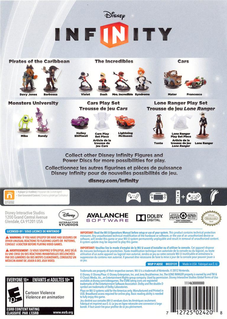 Disney Infinity WiiU backHQ (ADSE4Q)