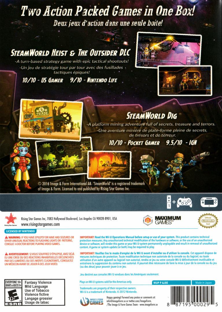 SteamWorld Collection WiiU backHQ (AJ8E99)