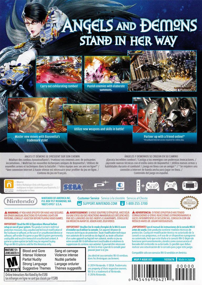 Bayonetta 2 WiiU backHQ (AQUE01)