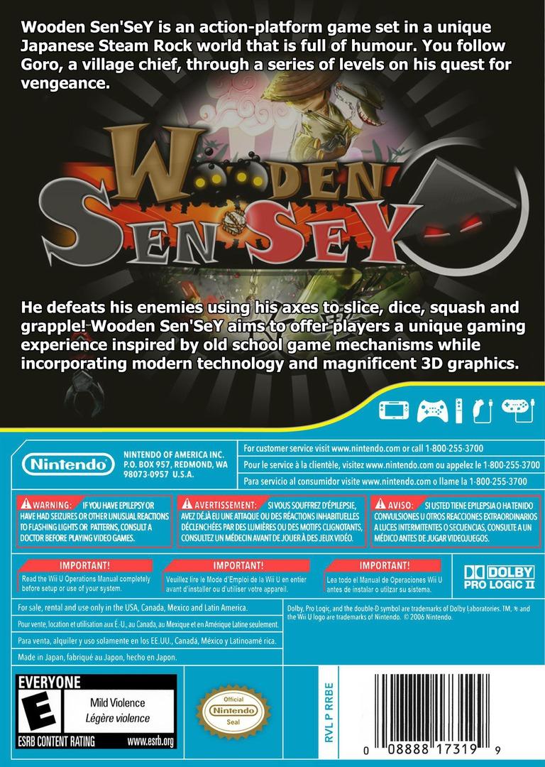 Wooden Sen'SeY WiiU backHQ (WDSE)
