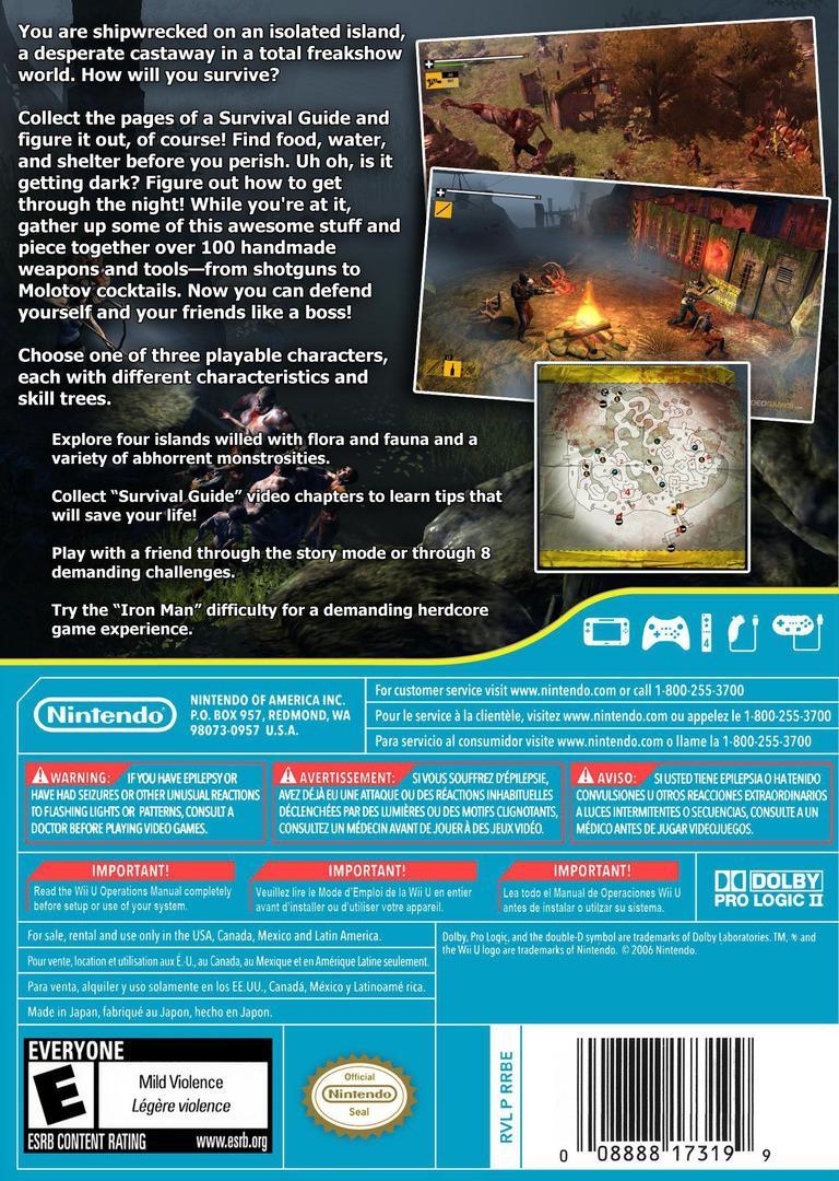 How to Survive WiiU backHQ (WHTE)