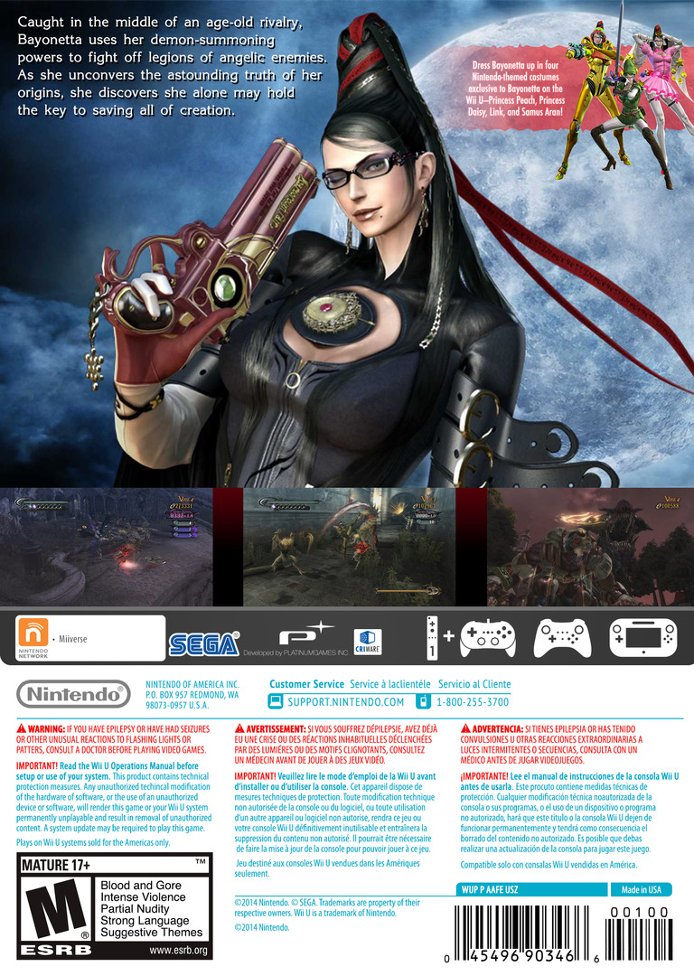 Bayonetta WiiU backHQ2 (AAFE01)