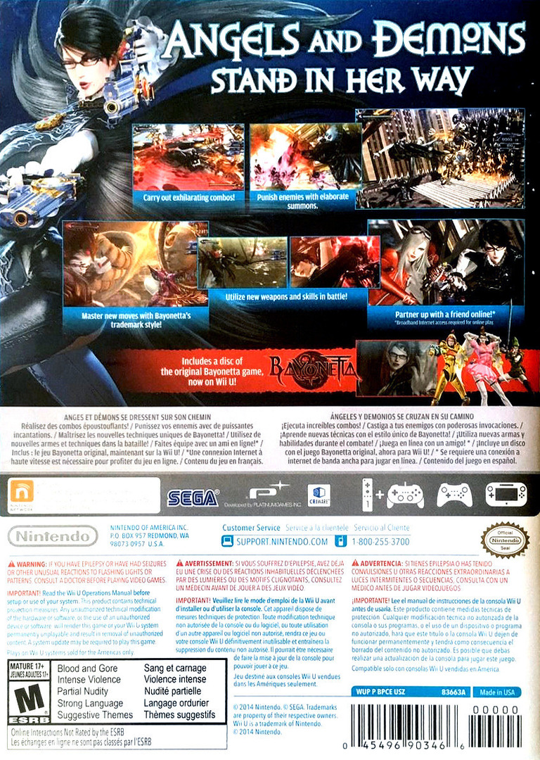 Bayonetta 2 WiiU backHQB (AQUE01)