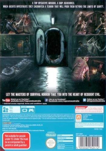 Resident Evil: Revelations WiiU backM (ABHP08)